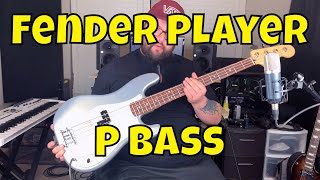 Fender Player Precision Bass - Workhorse at it's Best!
