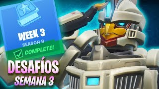 Fortnite - Semana 3 de Desafíos - Temporada 9
