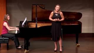 Lia's Aria and Recitative from Debussy's L'enfant Prodigue