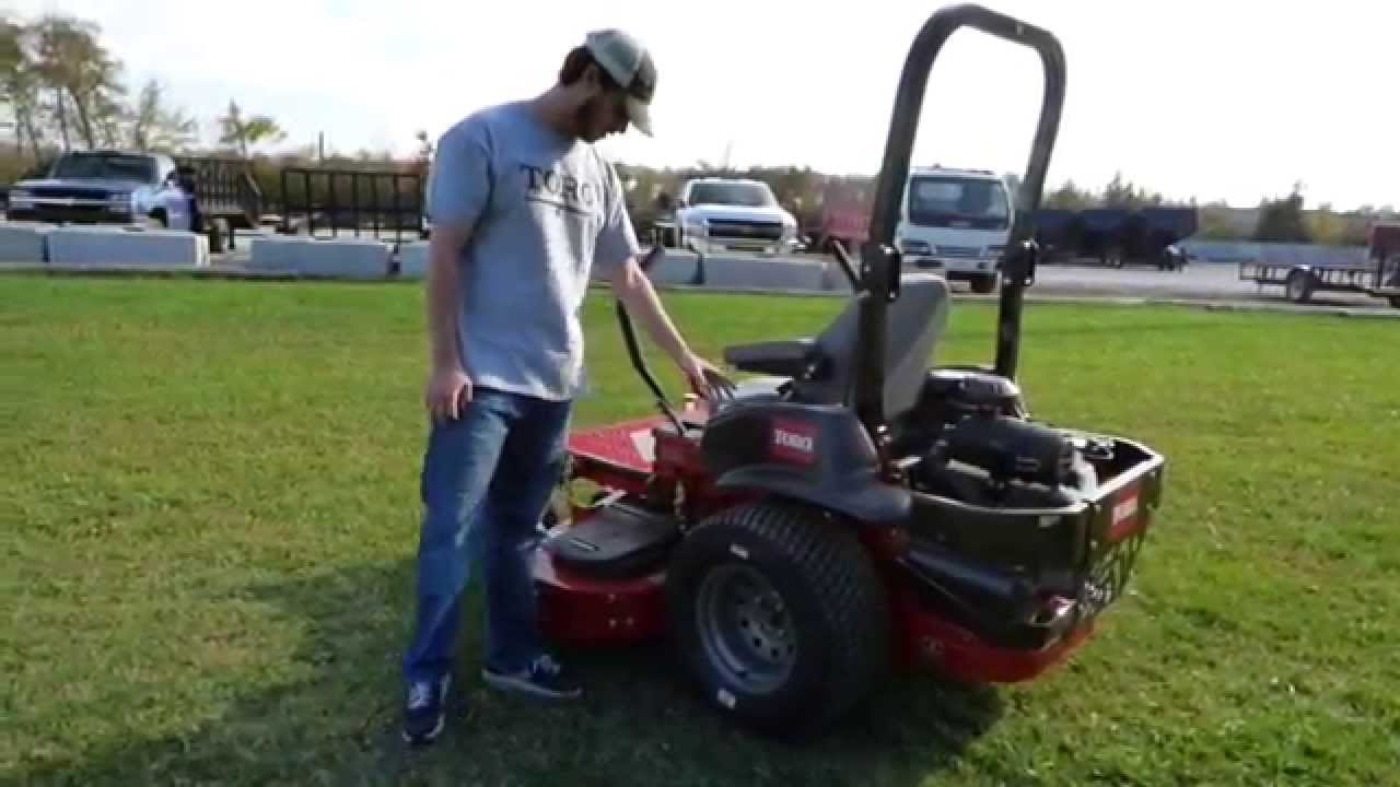Toro Z Master Commercial 3000 Series Zero Turn Mower
