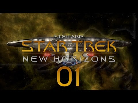 Stellaris Star Trek #01 STAR TREK NEW HORIZONS MOD - Gameplay / Let's Play