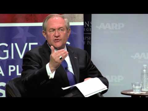 2016 Take A Stand: Jim Gilmore on Social Security