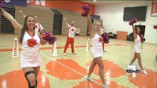 Clemson Cheerleaders Ready To Roar At National Championship