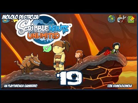Scribblenauts Unlimited 19 - Dunas de Abjad - Oasis de Camelcase - Volcalcán -