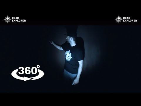 360° Video: Scary 360° Ghost Hunting Video #3!