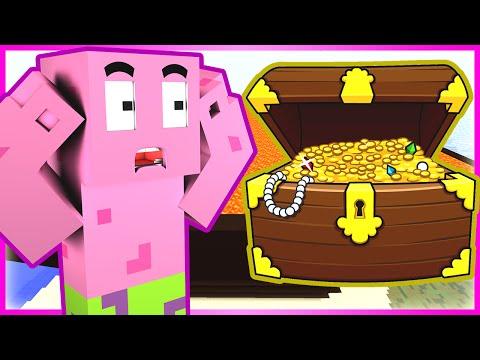TREASURE HUNTING (Minecraft Spongebob Roleplay #19)