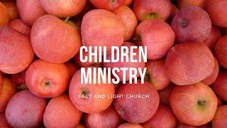 10/25/20 Children Sunday Service
