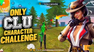 Only New Clu Character Challenge Total 16 Kills Gameplay Free Fire🙂