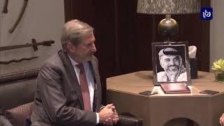 الملك يؤكد ضرورة تكثيف الجهود للتوصل إلى سلام عادل - (22-10-2018)
