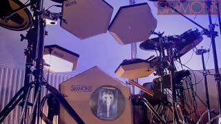 """Scorpions - """"Send Me An Angel"""". 🎧 Drum Cover. SIMMONS SDS 8."""