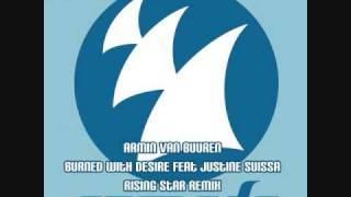 Armin Van Buuren - Burned With Desire feat Justine Suissa (R