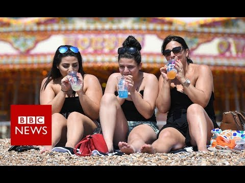 Why is it so hot at the moment? - BBC News
