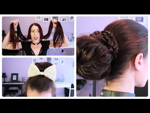 ♥ EASY HAIRSTYLES FOR WET LONG HAIR ♥