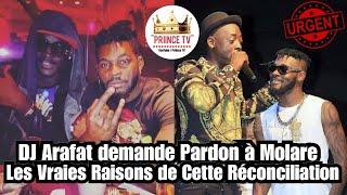 DJ Arafat demande Pardon à Molare, Les Vraies Raisons de Cette Reconcilation | Journal de PRIINCE TV