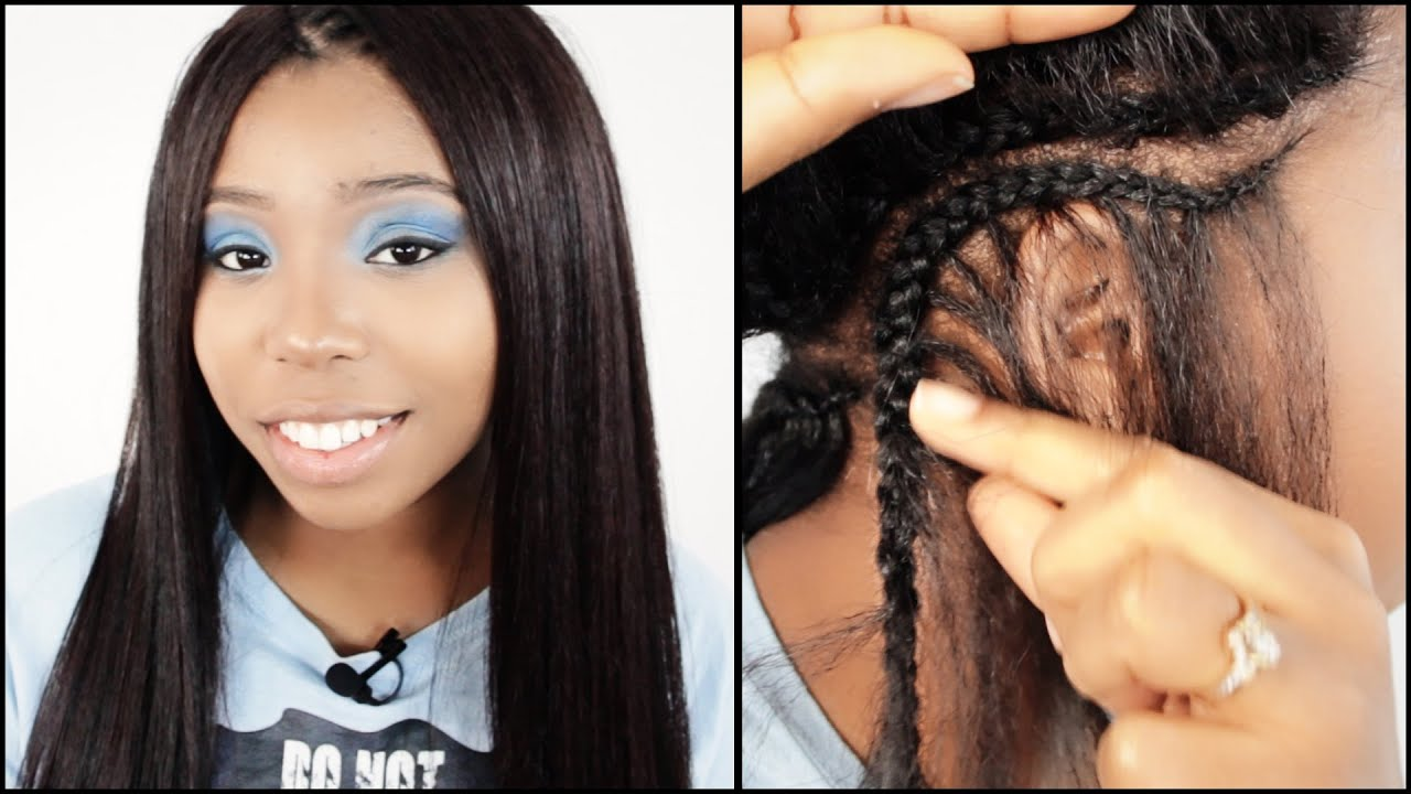 Cornrow Tree Braid Start To Finish In 7 Minutes Youtube