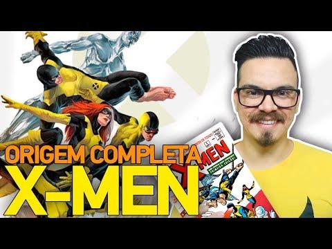 X-MEN: THE X-MEN #1 | ORIGEM COMPLETA