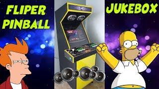 Fliperama 3 em 1 / Jogos / Musicas / Pinball