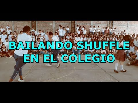 BAILANDO CUTTING SHAPES/SHUFFLE EN EL COLEGIO (COLOMBIA) David García