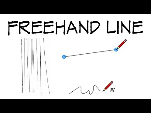 How to draw a straight line - freehand! - Architecture Daily Sketches