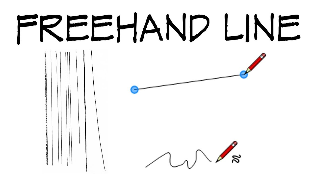 Drawing Lines Freehand : How to draw a straight line freehand architecture