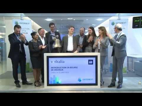EnterNext accueille Voltalia sur Euronext à Paris