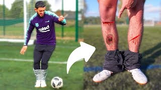 I Duck Taped My Football Boots Together & This Happened...(PAINFUL)