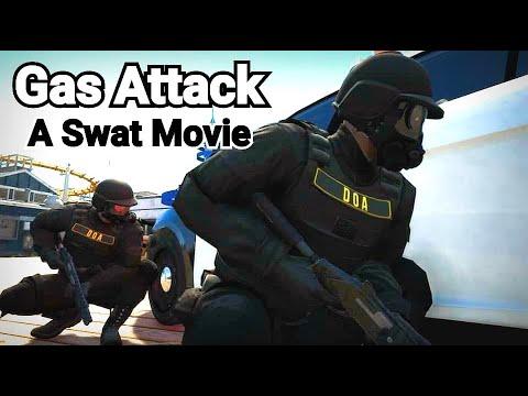 Gas Attack - GTA 5 Machinima Swat Movie [4K] | Rockstar Edit