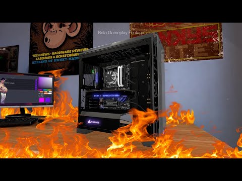 I Destroy People's PCs For a Living- PC Building Simulator |
