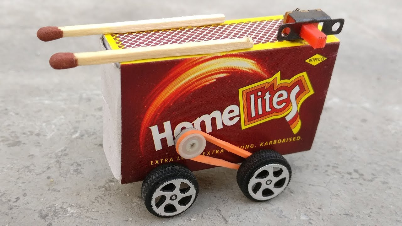 How To Make A Electric Toy Car At Home Matchbox Car Mini Car
