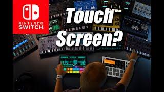 Korg Gadget - Nintendo Switch - Touch Screen???