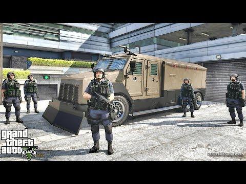 GTA 5 MODS LSPDFR 792 - SWAT PATROL!!! (GTA 5 REAL LIFE PC MOD)