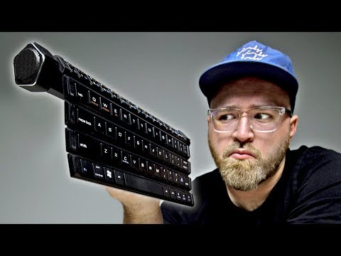 Thumbnail: Ever Tried Rolling Your Keyboard?