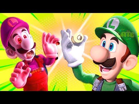СУПЕР МАРИО ЛУИДЖИ МЕНШН #13 мультик игра для детей Детский летсплей на СПТВ Luigi Mansion 3 Boss