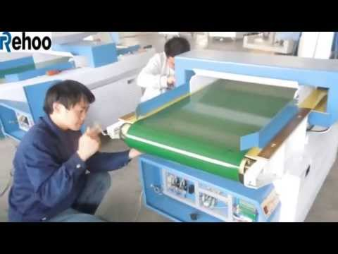 Needle detector conveyor belt dismounting and install