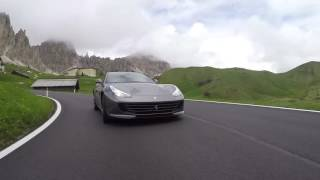 GTC4 Lusso Footage  Grey Car