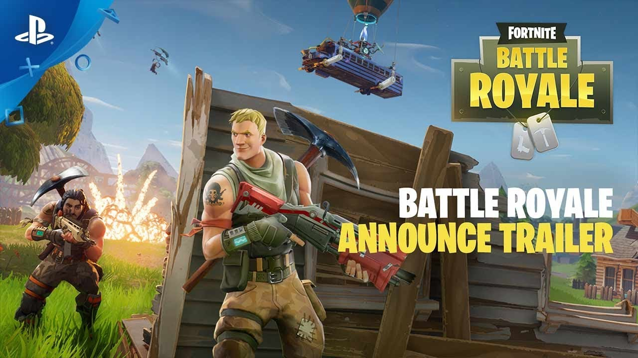 Fortnite Battle Royale Announce Trailer Ps4 Youtube