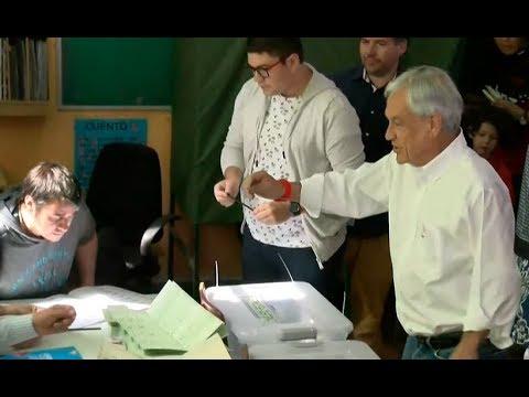 #EleccionesLT | Votación de Sebastián Piñera