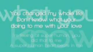 vuclip Chris Brown ft. Keri Hilson - Superhuman with lyrics