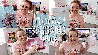 HOME BARGAINS HAUL | MARCH 2018 ⭐️ | Brogan Tate