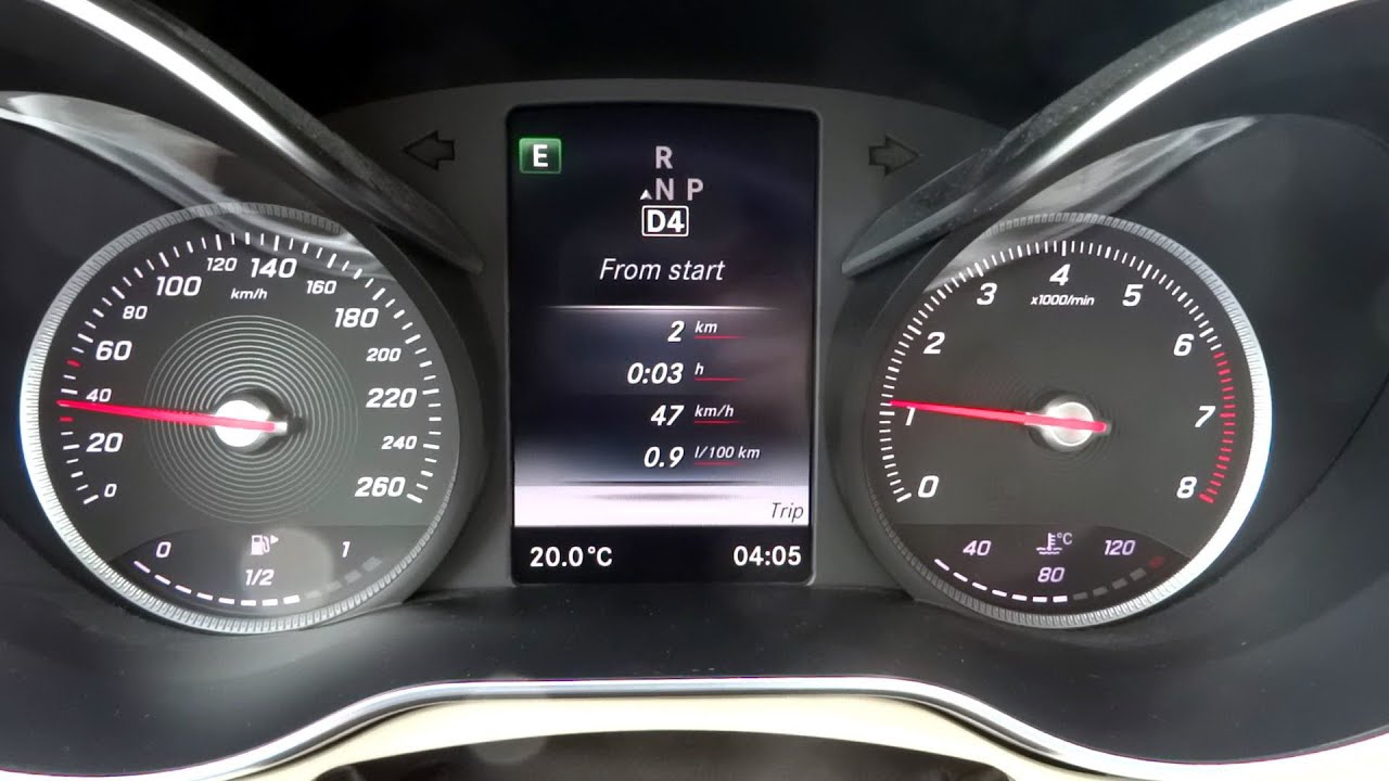 W205 mercedes benz c200 eco driving the most fuel for Most fuel efficient mercedes benz