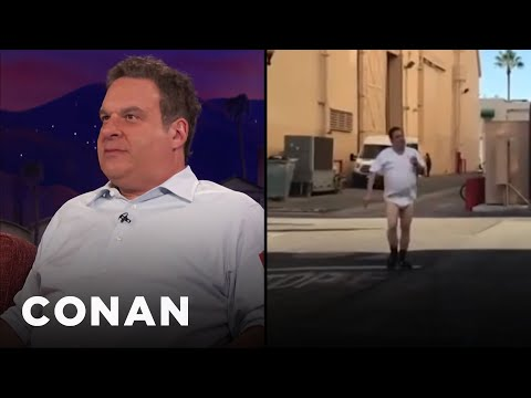 Jeff Garlin Doesn't Wear Pants At Work  - CONAN on TBS