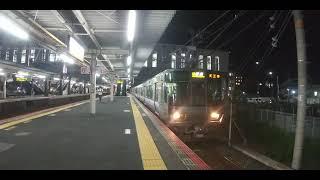 [緑丸]223系2500番台発車サービスMHあり