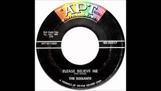 THE ELEGANTS   PLEASE BELIEVE ME 1958 Apt 45  25017