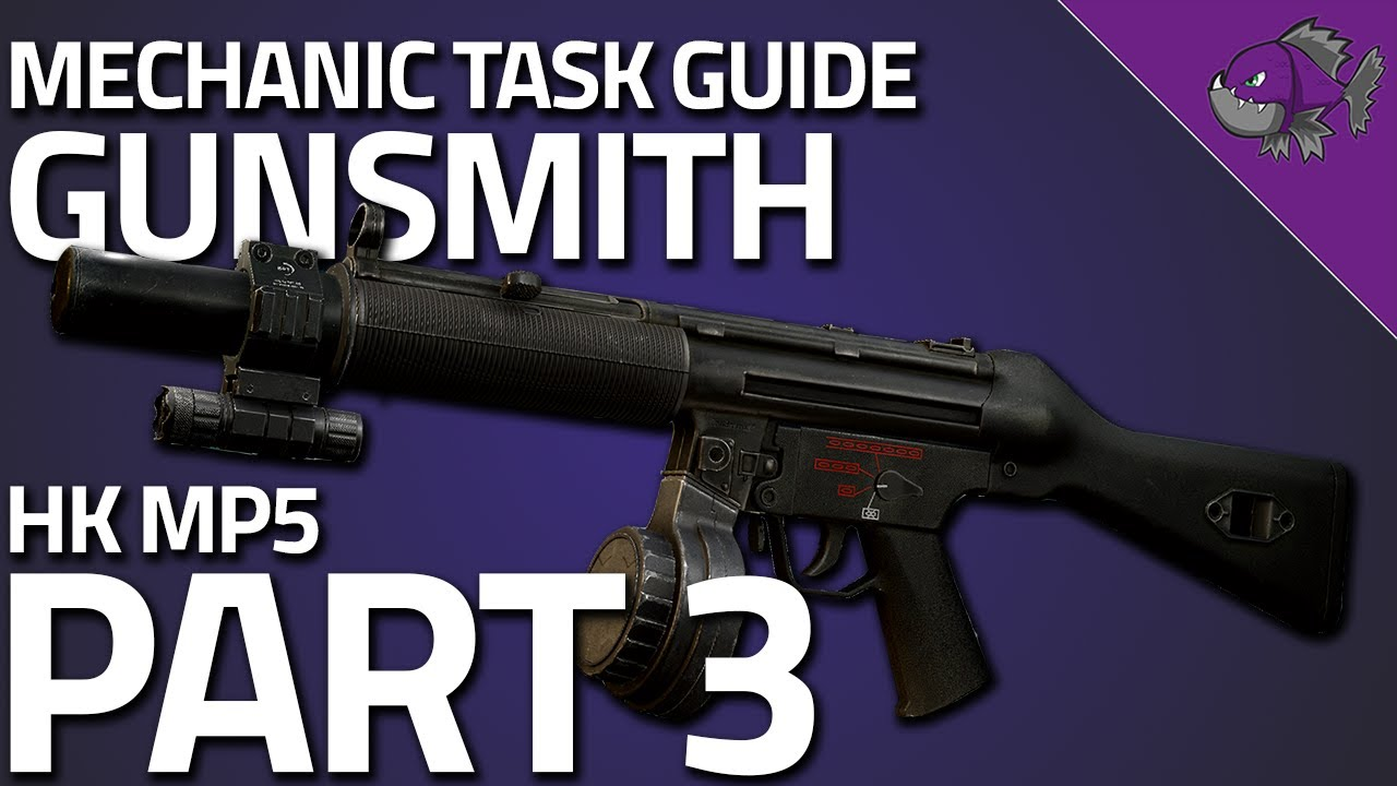 Gunsmith Part 3 Mechanic Task Guide 0 12 6 Escape From Tarkov Piranha Let S Play Index Find your factory, buy your resources, produce a wide range of military equipment to sell to the highest bidder. gunsmith part 3 mechanic task guide 0