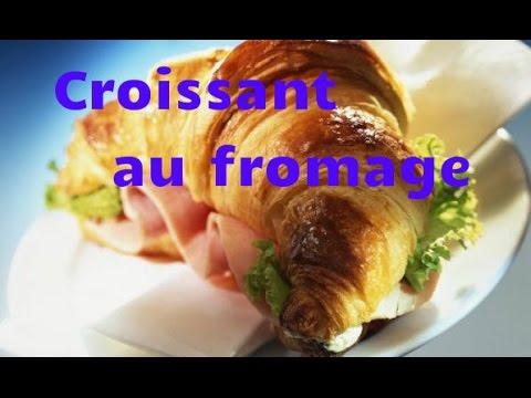 recette-croissant-jambon-fromage