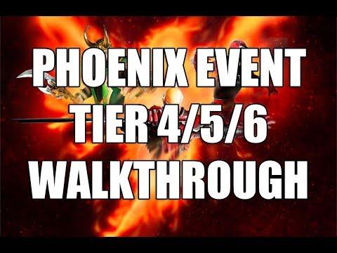 Phoenix Legendary Event Walkthrough - Marvel Strike Force