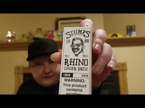 CHARLIE CHALK DUST STUMPS- RHINO E LIQUID REVIEW