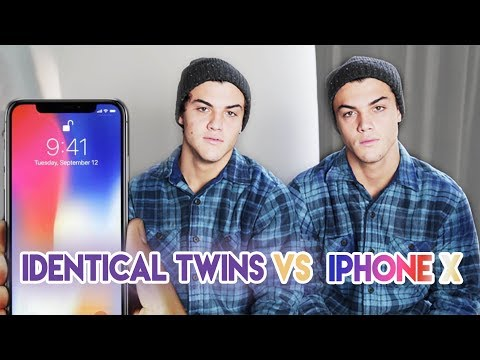 Thumbnail: Twins Vs. iPhone X Face ID