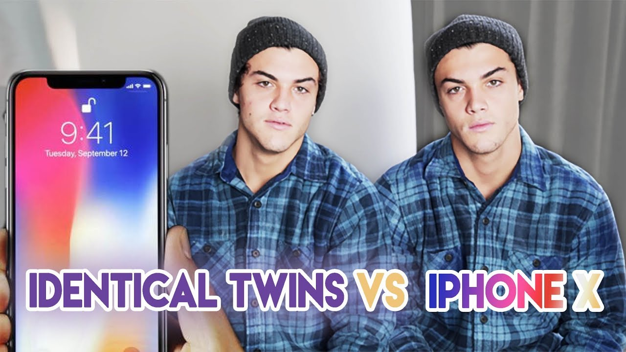 Twins Vs Iphone X Face Id Youtube
