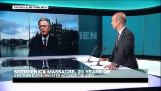 Srebrenica massacre: Western allies did not share key intelligence says Voorhoeve